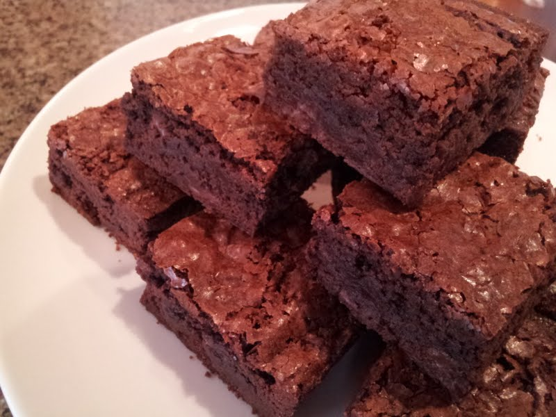 Deep, Dark, Rich, and Chewy Brownies!