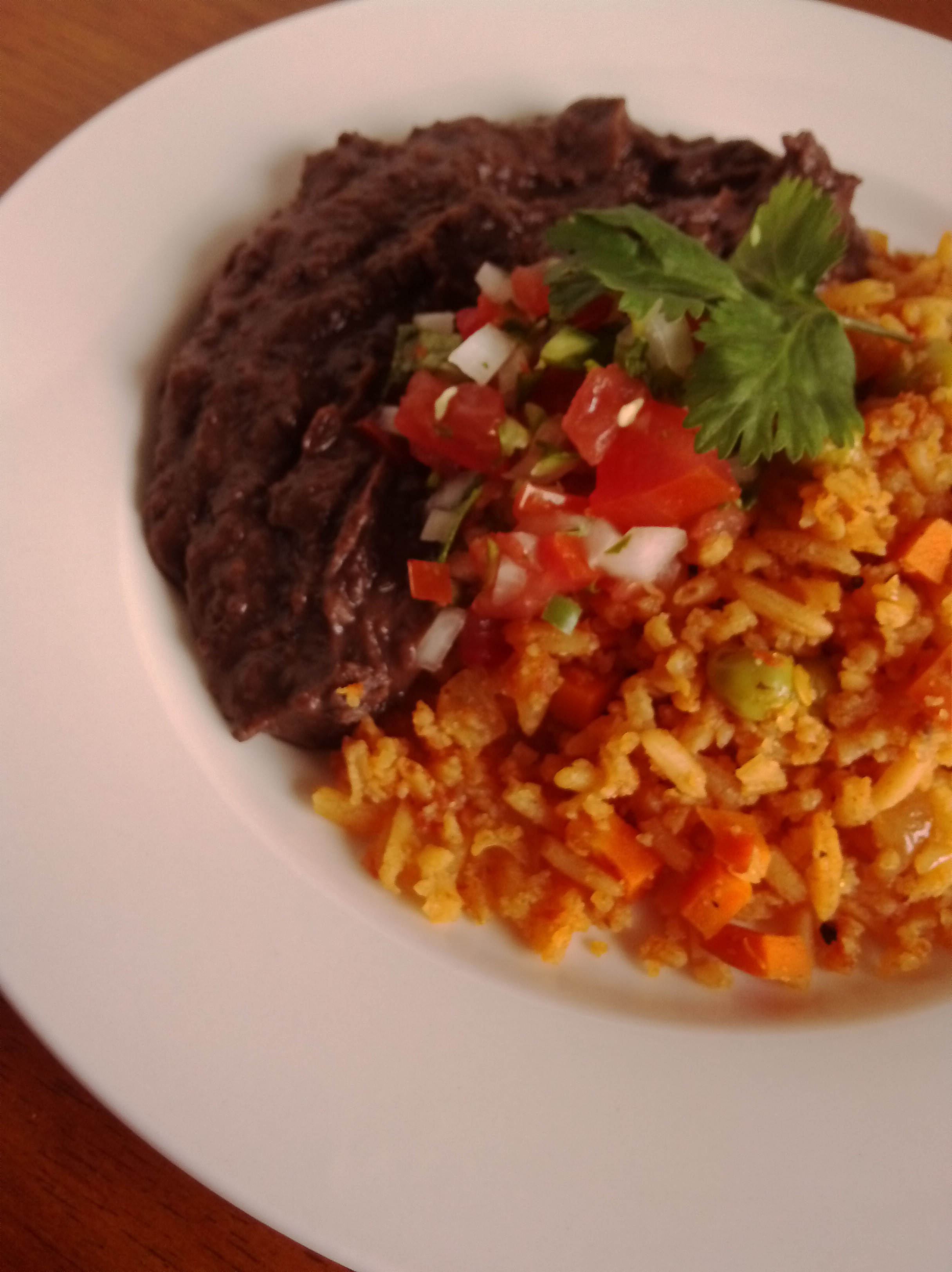 Mexican Rice and Beans the Dynamic Duo!