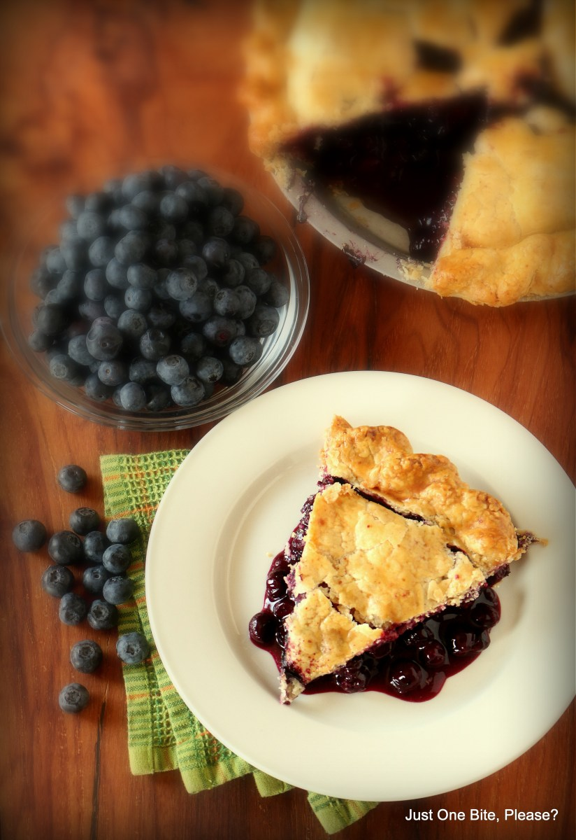 Fresh Blueberry Pie: My Sweet Confession