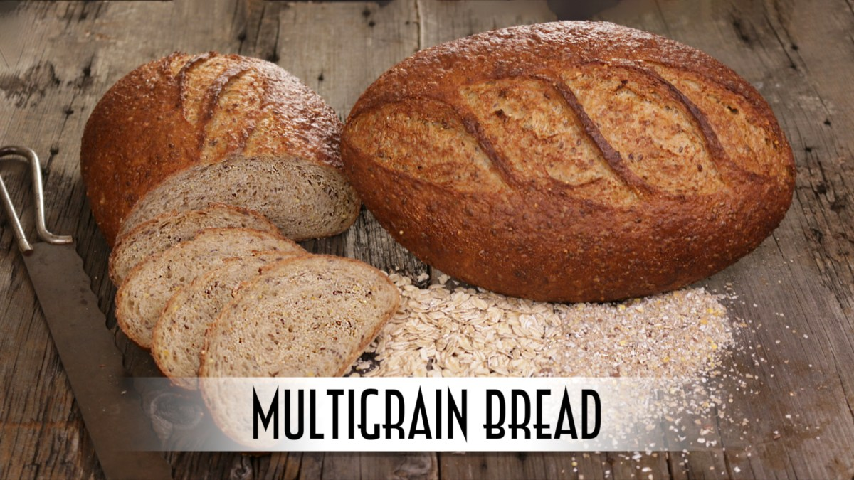 Multigrain Bread | Straight Dough Method