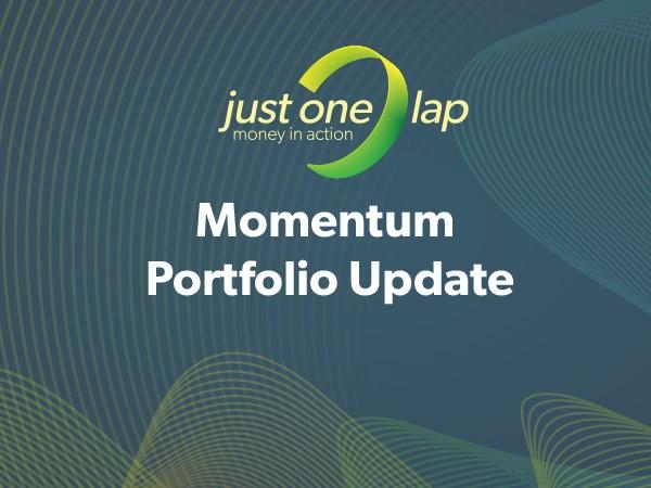 Momentum portfolio update