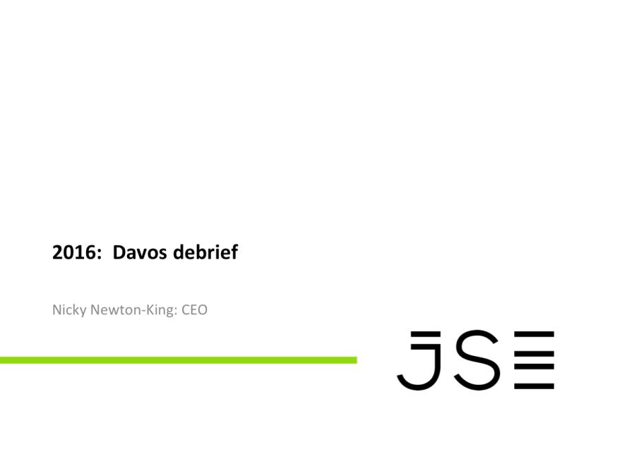 Davos 2016