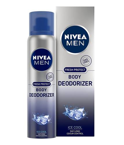 Nivea Men Fresh Protect Ice Cool Deodorizer Body Spray For Men- 120 ml
