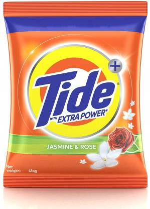 Tide Plus with Extra Power Jasmine and Rose Detergent Washing Powder