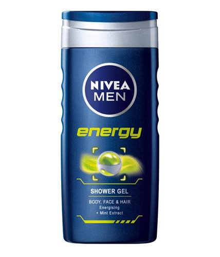 Nivea Men Energy Shower Gel (250 ml)