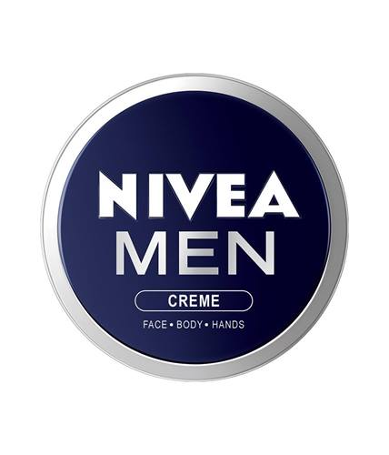 NIVEA MEN Creme, Face Body & Hands, Moisturizing Cream, 75ml, 30ml