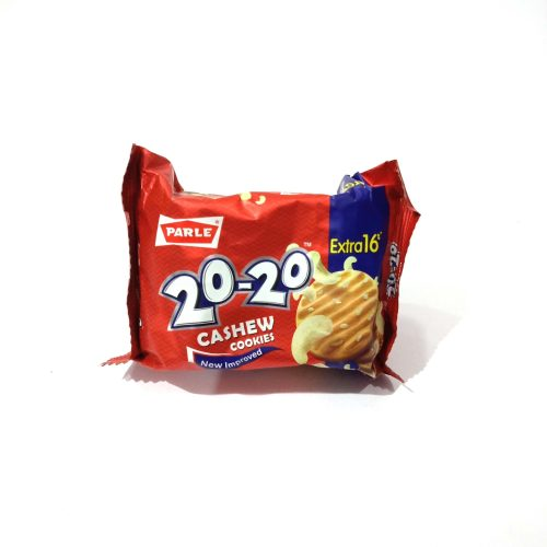 Parle 20-20 Cashew Butter Cookie, 150g