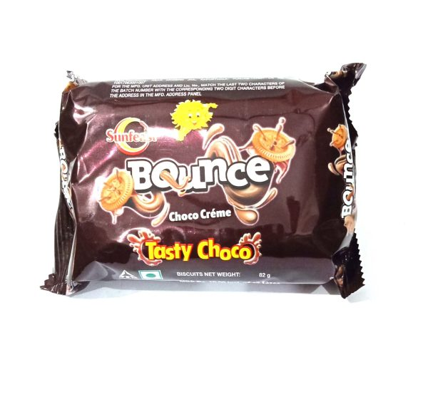 Sunfeast Bounce Choco Cream, 82g