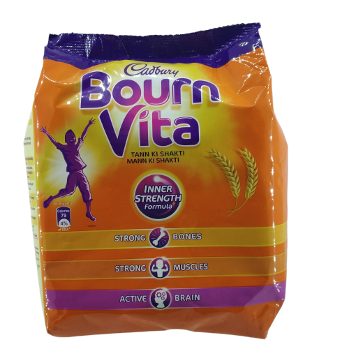 CADBURY BOURNVITA CHOCOLATE HEALTH DRINK REFILL PACK 500GM