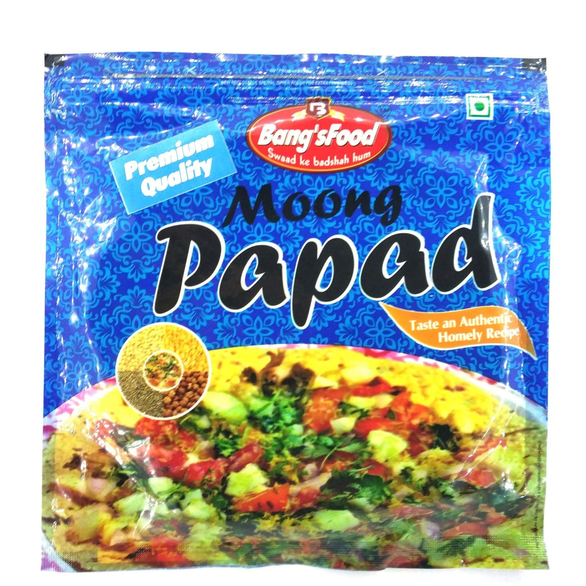 Bang's Food Moong Papad 200g