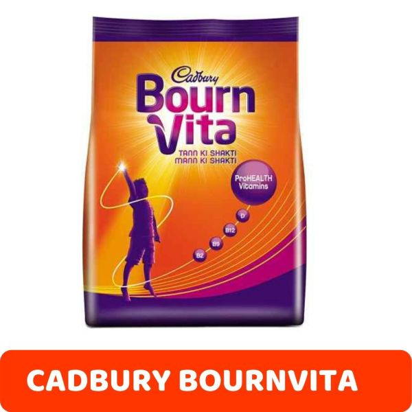 CADBURY BOURNVITA CHOCOLATE HEALTH DRINK REFILL, 500g