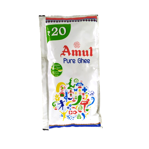 Amul Pure Ghee Pouch, 40ml