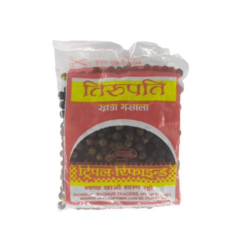 Black Pepper (kali Mirch) - 50g