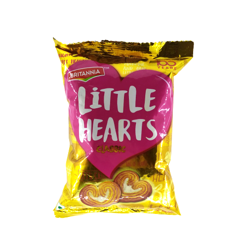 Britannia Little Hearts - 37g