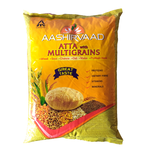 Aashirvaad Atta With Multigrains, 5kg