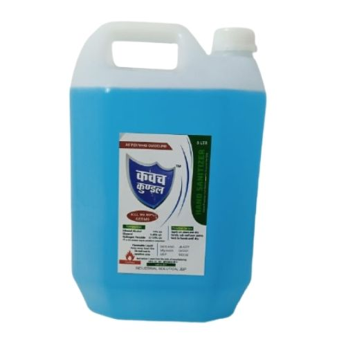 Kavach Kundal Alcohol Based Hand Sanitizer Can- 5L