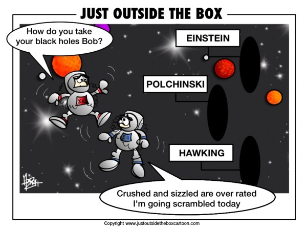 black hole theories Archives Just Outside the Box Cartoon