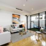 Repainting of Port Melbourne living room