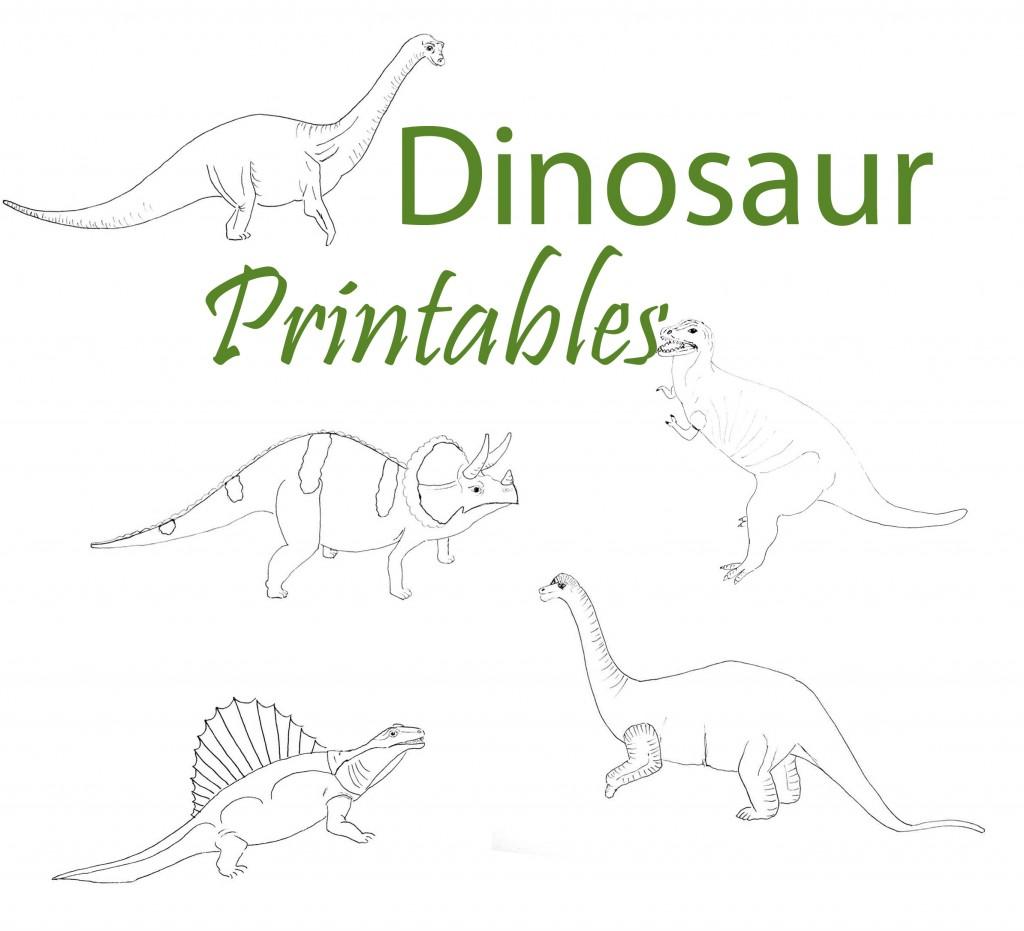 Dinosaur Printables