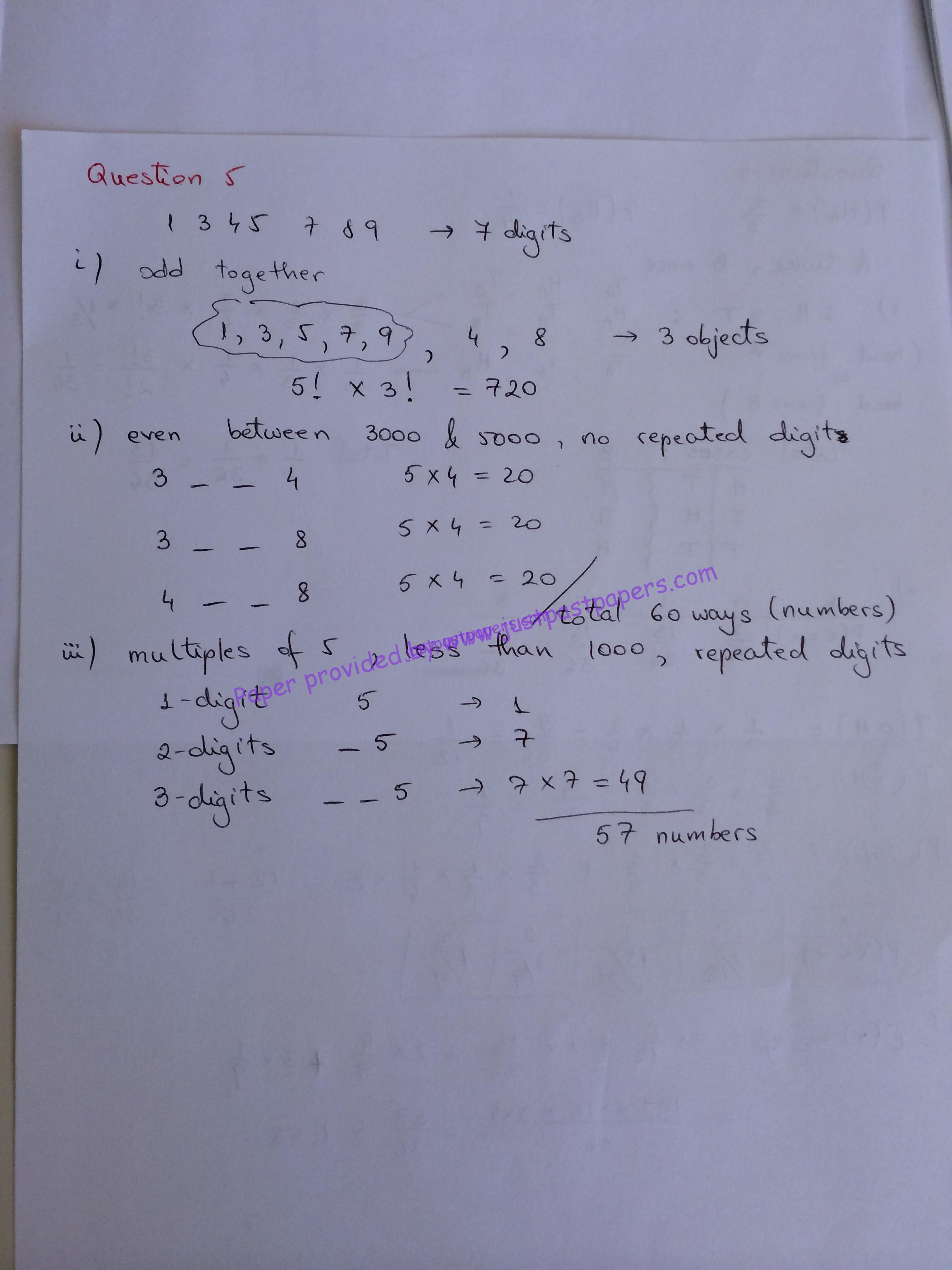 Mathematics Question Paper Grade 12 June