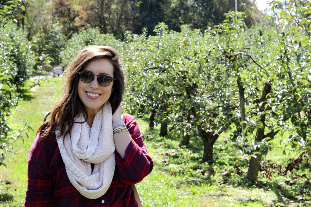 Fall Flannel Outfit | Just Peachy Blog