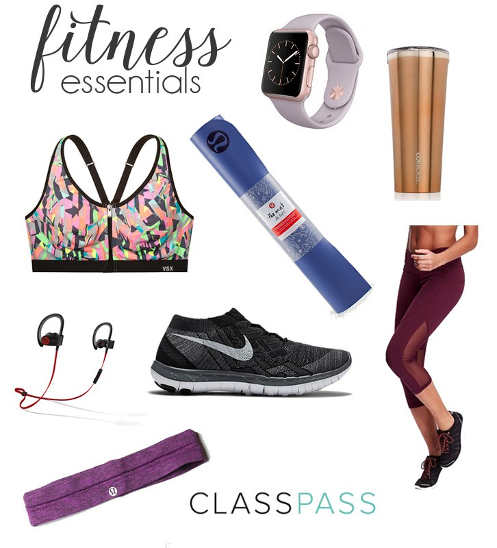 Fitness Essentials | Just Peachy Blog