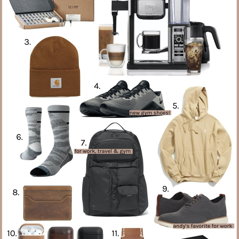 Holiday Gift Guide For Him | Just Peachy Blog