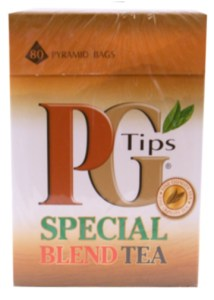 box of pg tips special blend