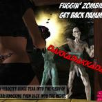 Second pic of Horny zombies are about to fuck this poor 3D chick
