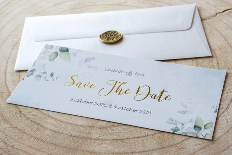 Huwelijk: Save the date - 3