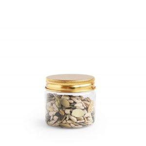 Verpakking: potje gouden deksel