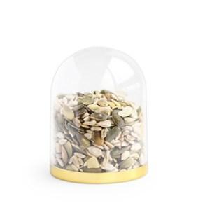 Verpakking: Globe gouden bodem