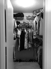 The cleanest this closet will ever be