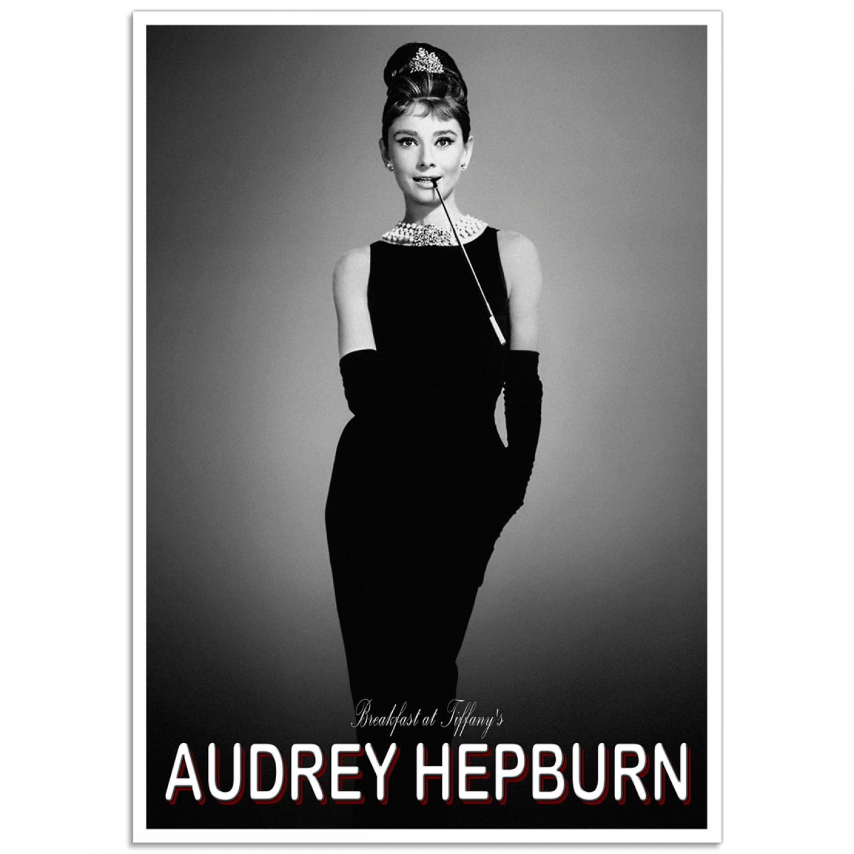 vestidos de películas de Hollywood Audrey Hepburn - Desayuno en Tiffany's