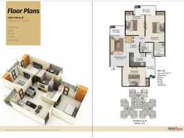 panchsheel-pinnacle-3bhk-1300