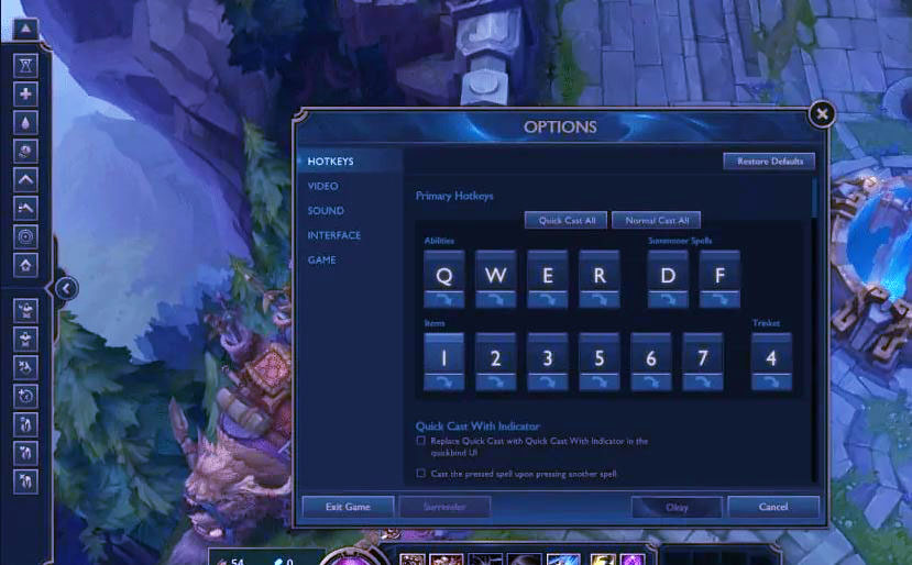how to show your ping in league of legends