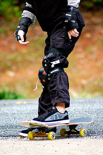 Little Skateboarder