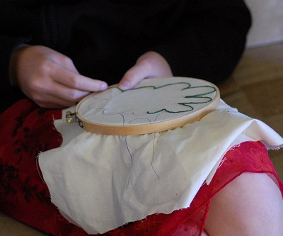 A Sunday School Lesson in Embroidery