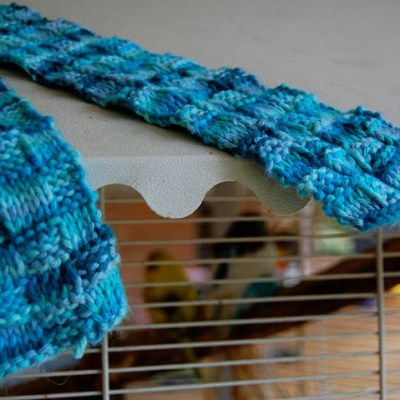 Tutorial:  A Knitting Pattern for a 'Woven' Scarf