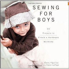 Book Review:  Sewing for Boys