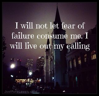 I Will Not Fear.