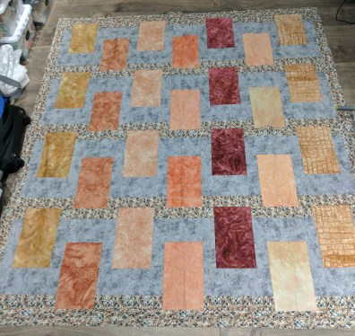 Retaining Wall Quilt