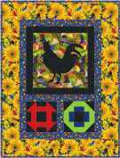 Hen Pecked Wallhanging - Garden Variety Collection
