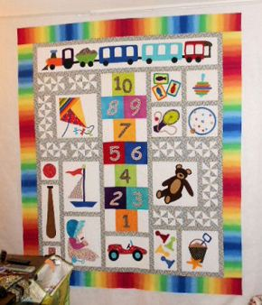 My unquilted version of Child's Play