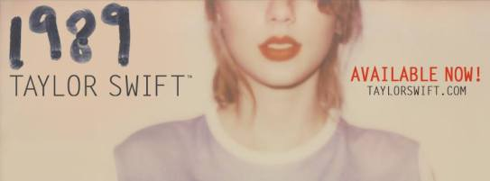 1989 album is now in stores