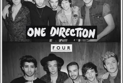 OneDirection FOUR Album Cover
