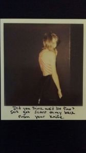 Taylor Swift Polaroid photos