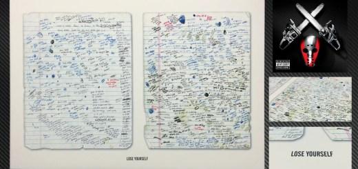 Shady XV Copies of Original 'Lose Yourself' Lyrics