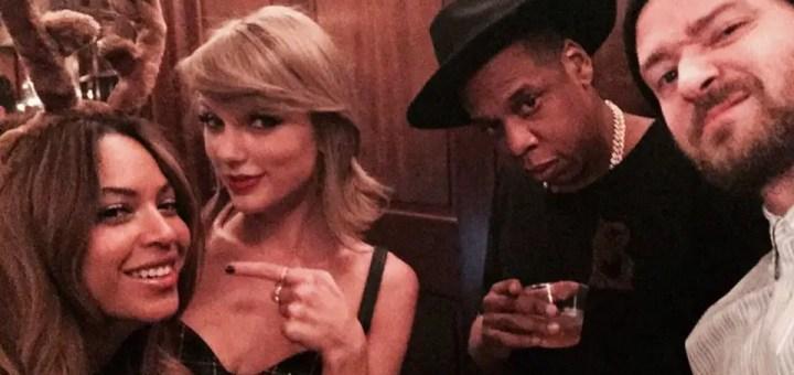 Taylor Swift, Jay Z, Beyonce Attends Justin Timberlake's Birthday