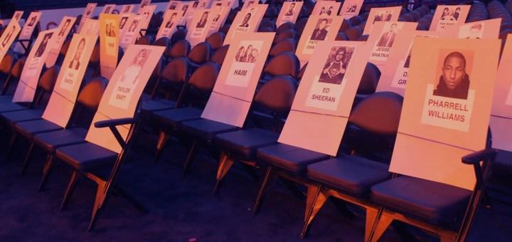 57th grammy awards 2015 seating arrangements